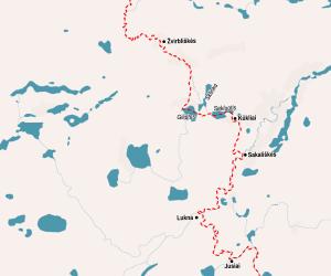 Kiaunas-Sakaliske-Svencioneliai